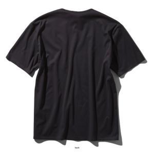 アウトドアシャツ ザ・ノースフェイス TECH LOUNGE S/S TEE(テック ラウンジ ショット Tシャツ) L K(ブラック)|naturum-outdoor|03