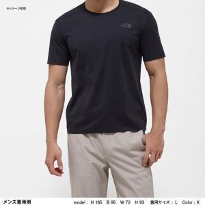 アウトドアシャツ ザ・ノースフェイス TECH LOUNGE S/S TEE(テック ラウンジ ショット Tシャツ) L K(ブラック)|naturum-outdoor|05
