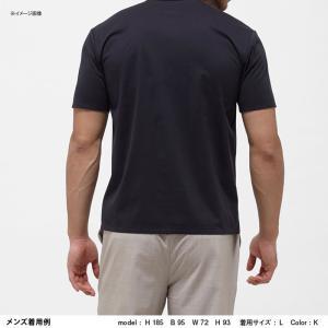 アウトドアシャツ ザ・ノースフェイス TECH LOUNGE S/S TEE(テック ラウンジ ショット Tシャツ) L K(ブラック)|naturum-outdoor|07