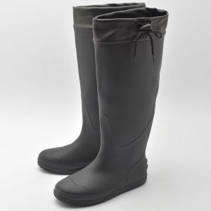 アウトドアブーツ・長靴 Milady くるくるレインブーツ L BLACK|naturum-outdoor