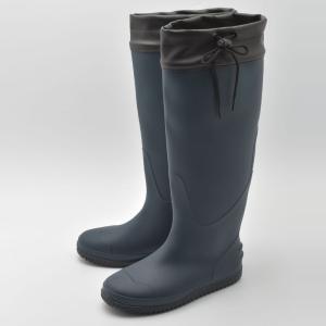 アウトドアブーツ・長靴 Milady くるくるレインブーツ L NVY|naturum-outdoor