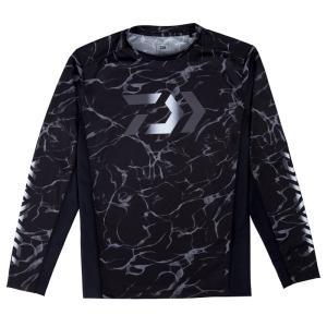 DE-38009 ロングスリーブ ゲームシャツ M スプラッシュブラック