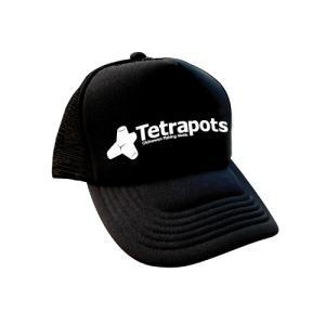 Tetrapots original cap フリー ブラック