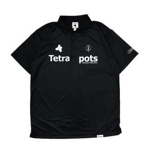 フィッシングウェア テトラポッツ Tetra Polo L ブラック