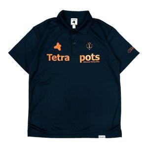 フィッシングウェア テトラポッツ Tetra Polo XL ネイビー