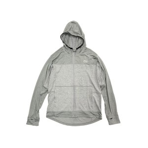 アブ スコーロン防虫&冷感UVドライフーディー L グレー