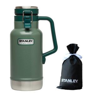 水筒・ボトル・ポリタンク スタンレー クラシック真空グロウラー1L GN+STANLEY ギフトバッ...