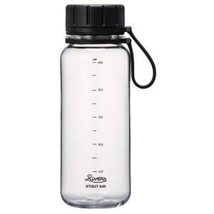水筒・ボトル・ポリタンク リバース スタウト エア 550 550ml クリア|ナチュラム PayPayモール店