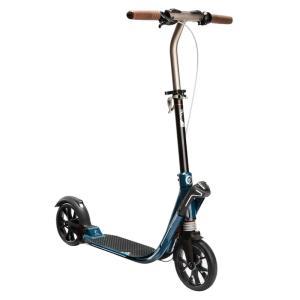 キックボード OXELO Town9 EF V2 キックスクーター ライトペトロールブルー|ナチュラム PayPayモール店