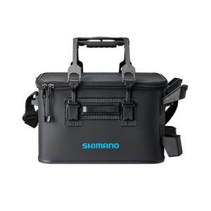 タックルバッグ シマノ BK-021R ロッドレスト タックルバッグ(ハードタイプ) 27L4 ブラック ナチュラム PayPayモール店
