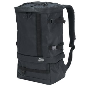 タックルバッグ アブガルシア システムバックパック 25L コーティングブラック ナチュラム PayPayモール店