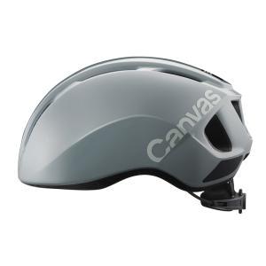 自転車アクセサリー OGK KABUTO Canvas Sports キャンバス スポーツ ヘルメット M/L グレーの画像