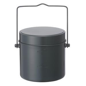 キッチンツール ロゴス ロゴス丸型飯盒(5合)|naturum-outdoor