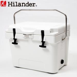 キャンプクーラー ハイランダー ハードクーラーボックス 25L ホワイト