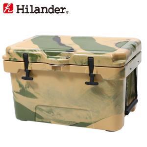 キャンプクーラー ハイランダー ハードクーラーボックス 35L カモ