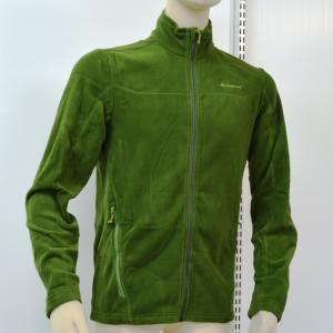 ジャケット(メンズ) QUECHUA FORCLAZ 200 メンズ フリース フルジップ ジャケット L GREEN