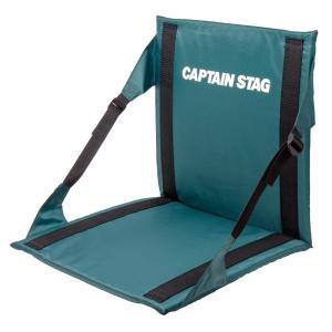 アウトドアチェア キャプテンスタッグ CS FDチェア・マット 折りたたみチェアマット/座椅子タイプ...