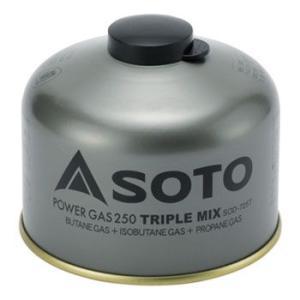 ガス燃料 SOTO パワーガス250トリプルミックス