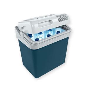 カーアクセサリー モビクール ポータブル24L 冷蔵ボックス 24L ブルー|naturum-outdoor