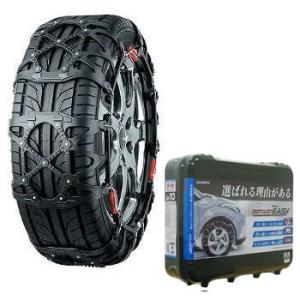 タイヤチェーン カーメイト 非金属タイヤチェーン バイアスロン・クイックイージー 簡単取り付け QE12 ブラック