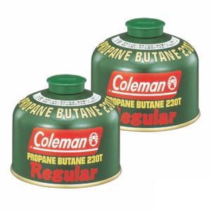 ガス燃料 コールマン(Coleman) 純正LPガス燃料[Tタイプ]230g【お得な2点セット】|naturum-outdoor