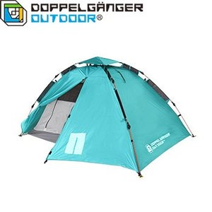 テント D.O.D ウルトラライトワンタッチテント 限定カラー 軽量テント 2人用 ターコイズブルー
