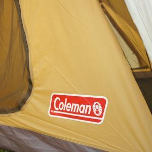 テント コールマン(Coleman) ラウンドスクリーン2ルームハウス スタートパッケージ【別注モデル】 オリーブ×コヨーテ naturum-outdoor 13