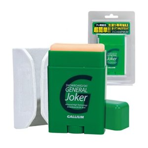 外遊びグッズ ガリウム GENERAL Joker(ジェネラルジョーカー )SW2158 生塗り専用ワックス 全雪質 30g|naturum-outdoor