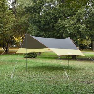 タープ・シェルター TENT FACTORY ヘキサゴンタープUV470(シルバーコーティング加工済) naturum-outdoor 02