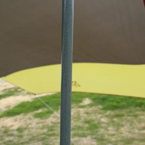 タープ・シェルター TENT FACTORY ヘキサゴンタープUV470(シルバーコーティング加工済) naturum-outdoor 08