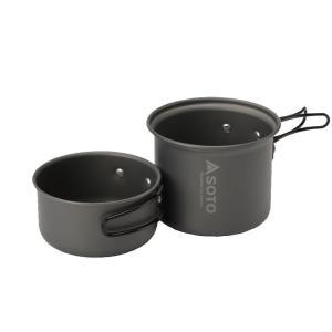 クッカーセット SOTO アルミクッカーセットM M|naturum-outdoor