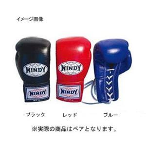 格闘技用品 WINDY 試合用グローブ(ひも式)BGL 12oz ブルー|naturum-outdoor