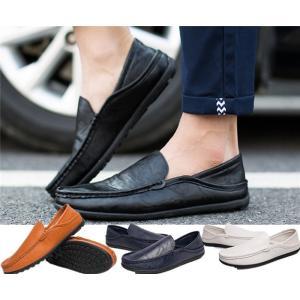 メンズ 合成革靴 スリッポン 軽い PU革 男性 通勤シューズ ビジネス|natyunal-shop