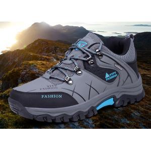 トレッキングシューズ メンズ 登山靴 お揃い ゴアテックス 疲れない スポーツシューズ 運動靴 アウトドア 軽量 滑り止め|natyunal-shop