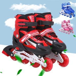 ローラースケート インラインスケート プロテクター フィットネス靴 プレゼント 誕生日サイズ調整可能 子供用 送料無料|natyunal-shop