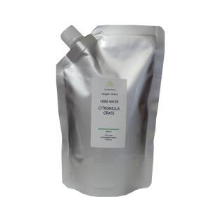 石垣島産  シトロネラグラス蒸留水  500ml アルミパウチ入り|nauhia-herb