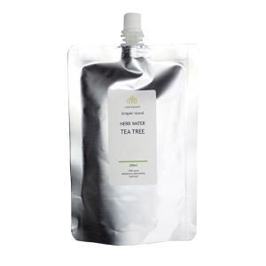 nauhiaherb 石垣島産  ティートゥリー蒸留水 200ml アルミパウチ入り ティーツリーウォーター|nauhia-herb