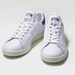 アディダス オリジナルス スタンスミス W adidas originals STAN SMITH ランニングホワイト / コアブルー メンズ レディース naval-sendai