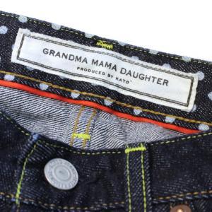 GRANDMA MAMA DAUGHTER(グランマ ママ ドーター)5 POCKET SLIM DENIM PANT 5ポケット スリム デニム パンツ GP23029W1 naval-sendai