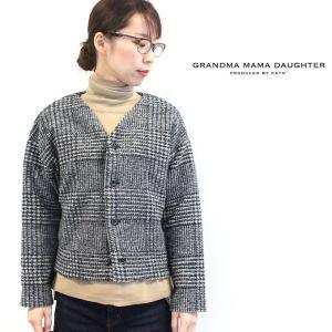 グランマママドーター GRANDMAMAMADAUGHTER ワイドカーデ2color GC833761 naval-sendai