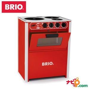 ブリオ BRIO 木のおもちゃ レンジ (赤) 31355