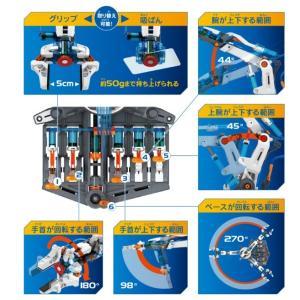 エレキット ELEKIT 水圧式ロボットアーム...の詳細画像4