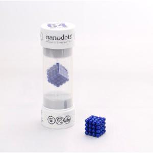 ナノドッツ【国内正規品】 Nanodots 64 Blue (64個、カラー:ブルー ) SET064-BU5S|navi-p-com-online