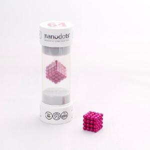 ナノドッツ【国内正規品】 Nanodots 64 Pink (64個、カラー:ピンク ) SET064-PK5S|navi-p-com-online