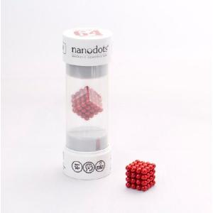 ナノドッツ【国内正規品】 Nanodots 64 RED (64個、カラー:レッド ) SET064-RD5S|navi-p-com-online