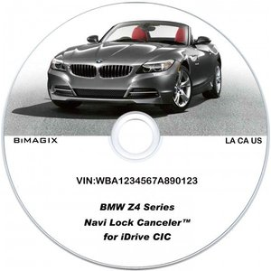 BMW カーナビ・テレビアンロックソフト Z4シリーズ...