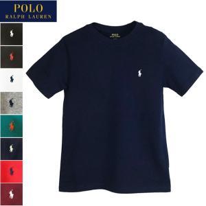 ポロ ラルフローレン キッズ ボーイズサイズ クルーネック 半袖 Tシャツ POLO  Ralph Lauren レディース メンズ 対応サイズ|navie