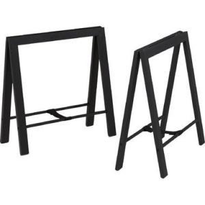 足 脚 ダイニング 食卓テーブル 用 DIY 天板は別売 ブラック 黒 机 北欧