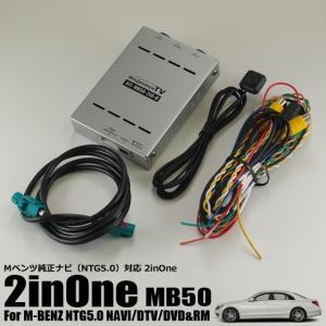 GLCも対応!Mベンツ(W222/W205/W447)にリアモニターが接続可能。走行中にテレビが映る2inOneインターフェイス|naviokun