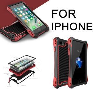 正規品ブランド iPhone7/7Plusケース 強化ガラス アルミバンパー メタルケース 背面保護 耐衝撃 防汚 防塵 iPhone7ケース アルミバンパー